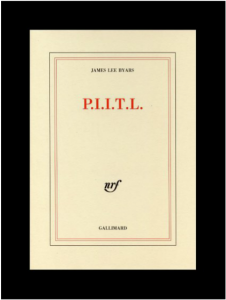 P.I.I.T.L (Perfect is in the Louvre), James Lee Byars, 1990